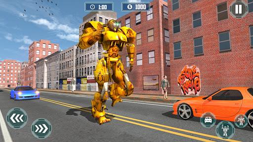 Robot Shopping Mall Taxi Driver