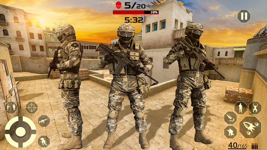 Firing Squad Shooter Arena: Fire Free Special Ops 3