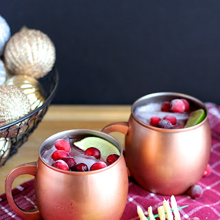 Cranberry Vanilla Moscow Mule