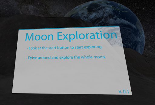 VR Moon Exploration