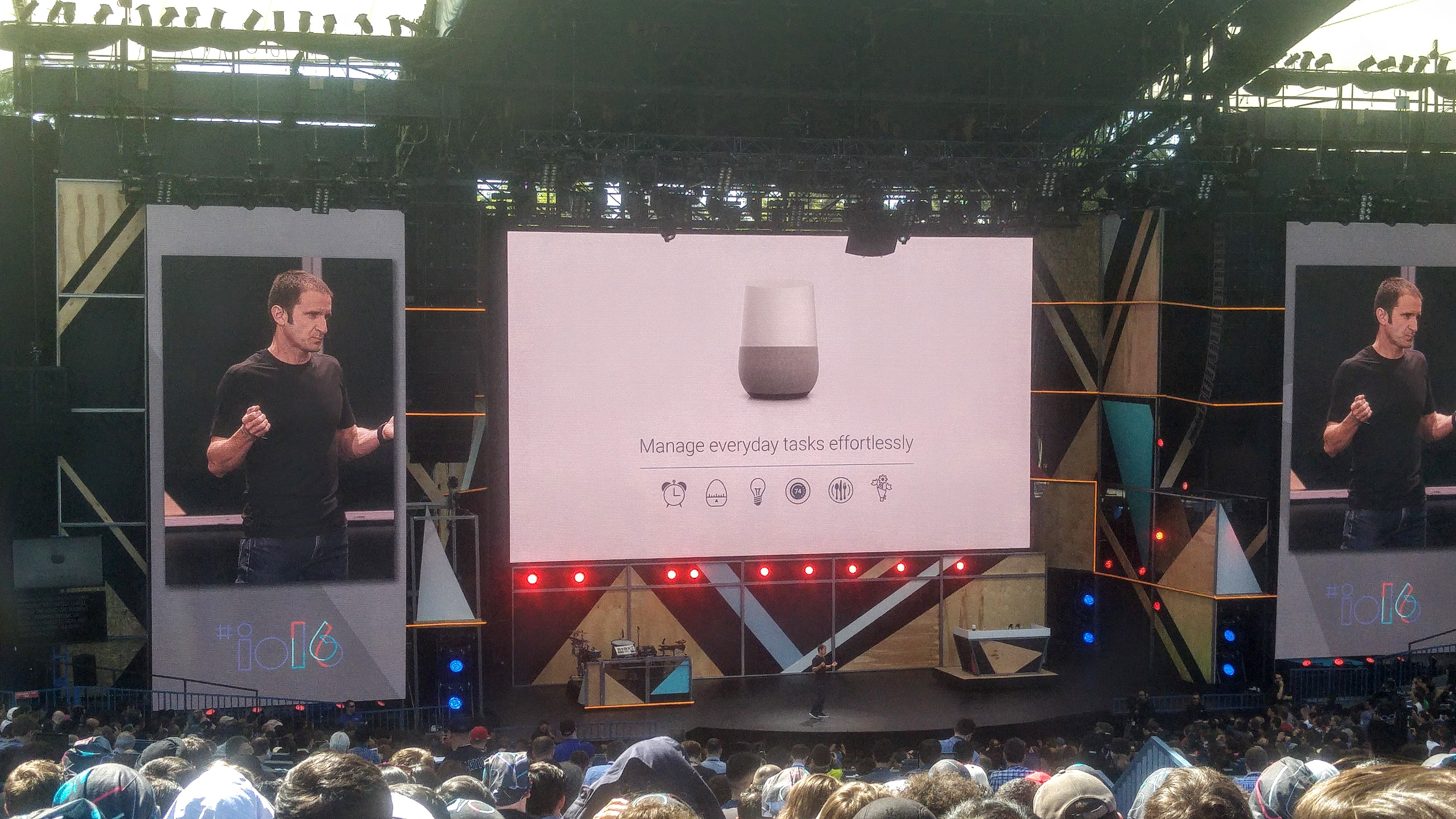 Introduction of Google Home at Google IO 2016