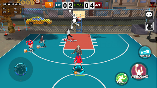 Street Dunk 3 x 3 Basketball 1.4.3.12 screenshots 2
