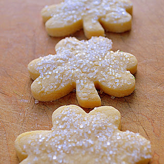 Irish Shortbread Butter Cookies
