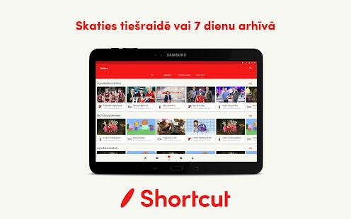 android tv how to create shortcut to apps