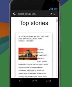 Surfup Browser Lite screenshot 1