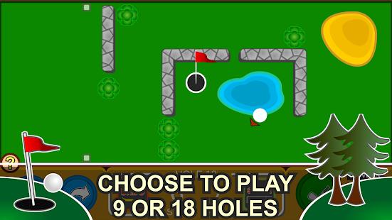 Mini Arcade Golf: Pocket Tours Screenshot