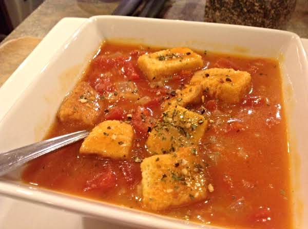 Daniel's Stewed Tomato Soup Recipe