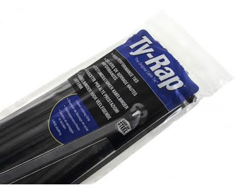 Buntband Ty-Rap 92 mm svart, 100-pack