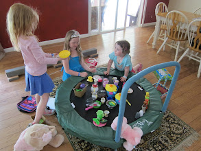 Photo: Charlotte, Georgia and Fianna playing at home, 2013