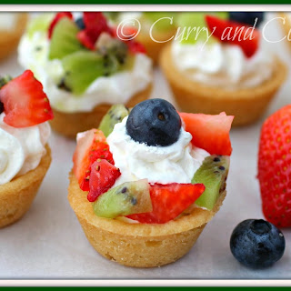 Mini Fruit Tarts Recipes.