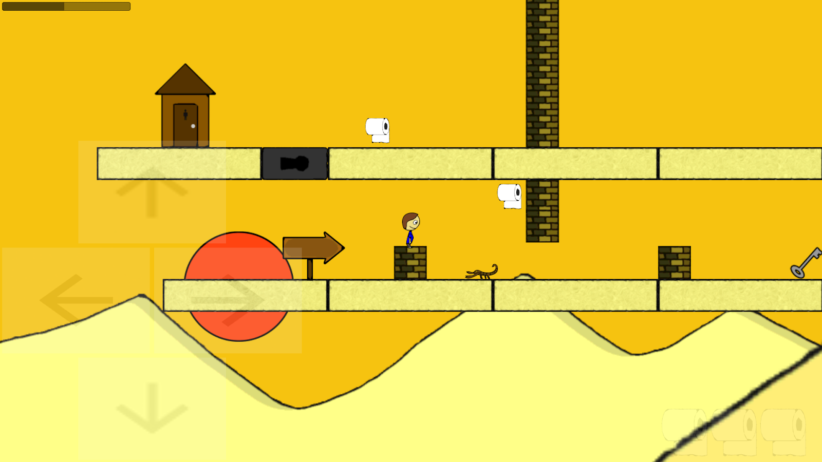 Toilet Boy - 2D Platformer- screenshot