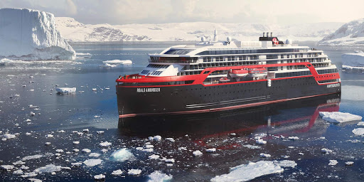 MS Roald Amundsen is the new hybrid-powered expedition cruise ship from Hurtigruten that offers wide-ranging itineraries around the globe.