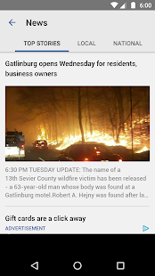 WBIR News- screenshot thumbnail