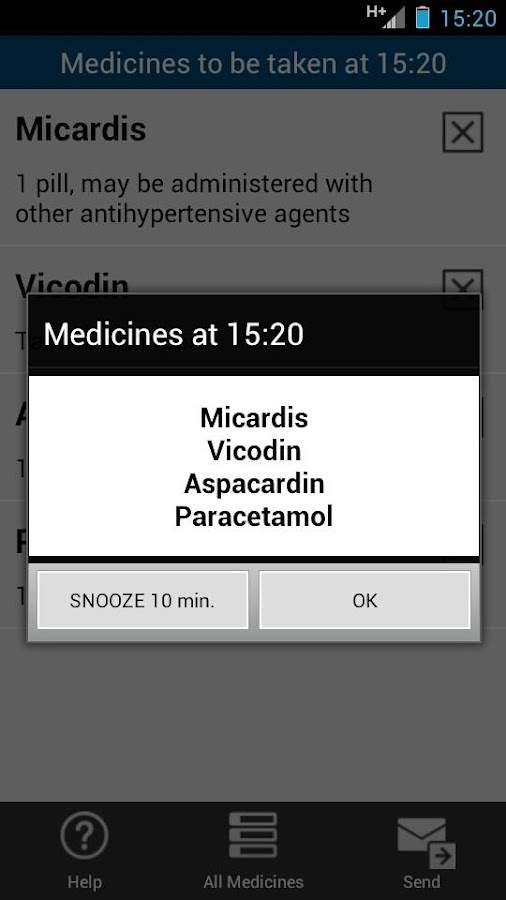 Prescription Manager Free- screenshot