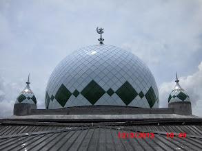 Photo: Kubah Masjid di Palangkaraya Kalteng