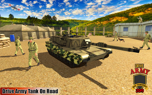 Drive Army Bus Transport Duty Us Soldier 2019 1.0 screenshots 9
