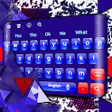 Red Blue Keyboard icon