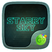Starry Sky GO Keyboard Theme