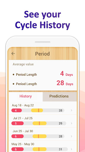 Period Tracker - Period Calendar Ovulation Tracker screenshot 6