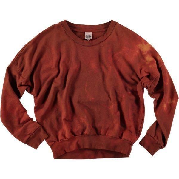Sweatshirt Tye & Dye Fleece Spice