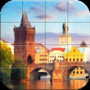 Tile Puzzle Digital Paintings