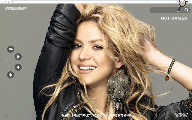 Shakira HD Wallpapers New Tab