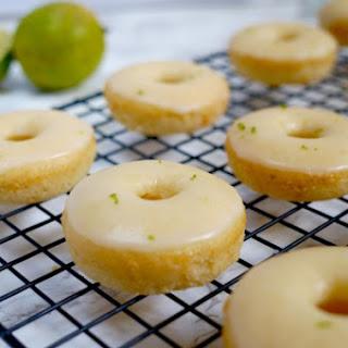 Vegan Baked Margarita Donuts