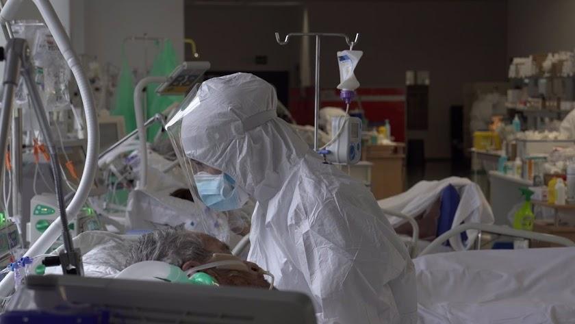 Aumenta la carga hospitalaria en la provincia.