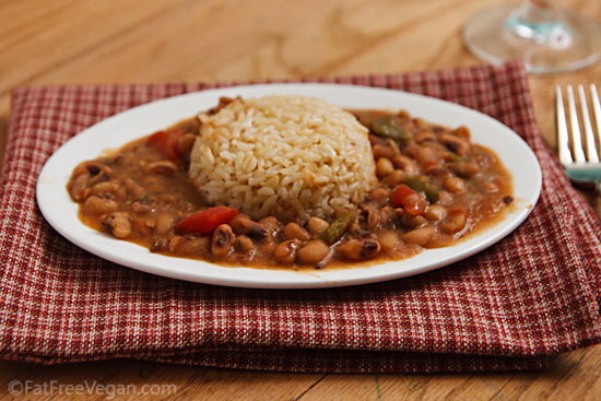 how to cook canned black eyed peas