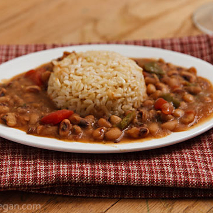 Creole Black-Eyed Peas Recipe