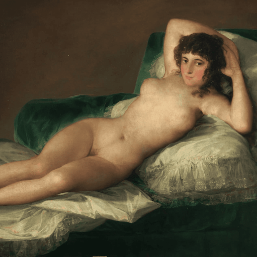 Maja nue de Goya