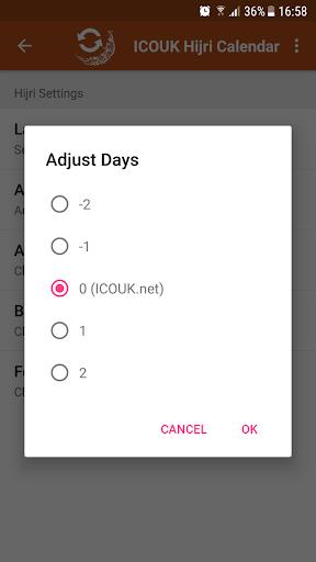 ICOUK Hijri Calendar Widgets 1.1.1 screenshots 3