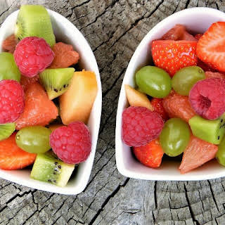 Fancy Fruit Salad.