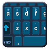 Darkblue Smart Keyboard skin