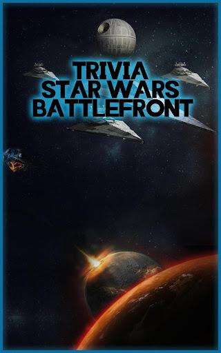 Trivia of StarWars Battlefront