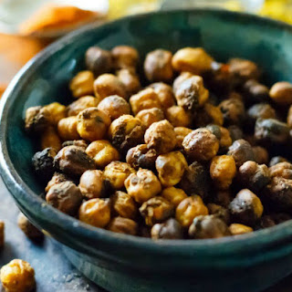 Oven-Crispy Indian Spiced Chickpeas