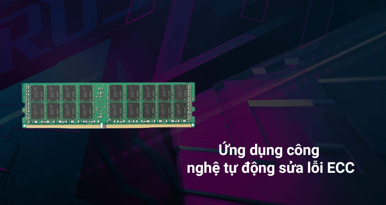 Bộ nhớ/ Ram Kingston 16G DDR4 2666 (KSM26ED8/16HD) | ứng dụng công nghê tự động