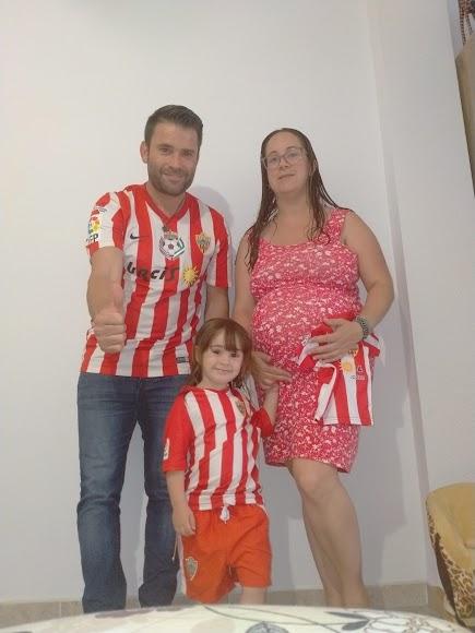 En familia por el Almería.