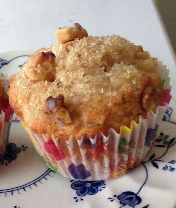 Pear-walnut Muffins Recipe