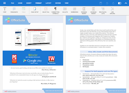 OfficeSuite Pro + PDF Screenshot 9