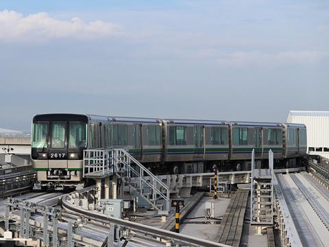 神戸新交通「ポートライナー」 2000型 神戸空港にて その1