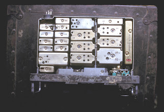 Photo: Radio salvaged from LZ Peanuts (I think)