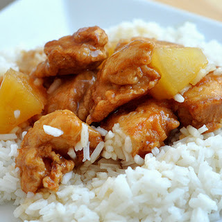 Chinese Pineapple Chicken.