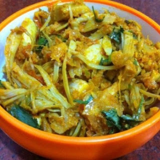 Jackfruit Masala Sabzi Recipe, How To Cook Masala Kathal