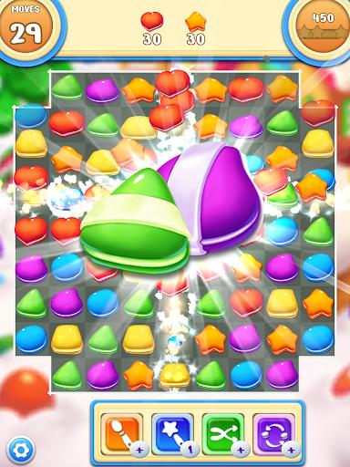 Cookie Macaron Pop : Sweet Match 3 Puzzle filehippodl screenshot 8