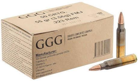 GGG  .308 FMJ 124gr