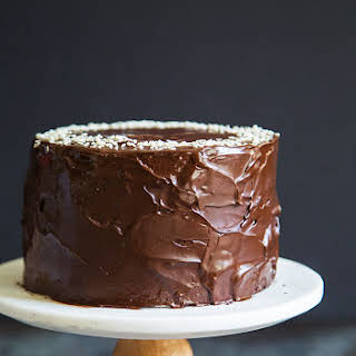 Tahini Chocolate Banana Cake.