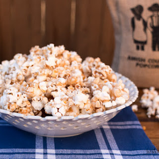 Microwave Toffee Popcorn