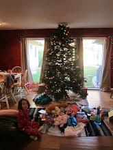 Photo: Fianna and Julia on Christmas Day, 2013