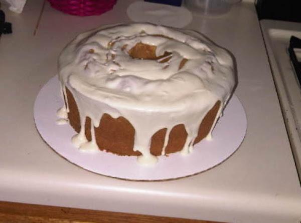 Orange Sour Cream Cake Recipe